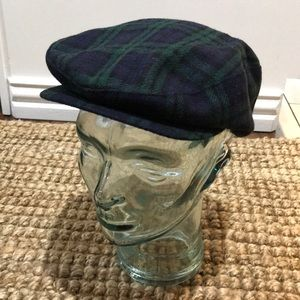 Vintage Plaid Kangol Driving Hat